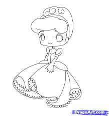 draw chibi cinderella step step drawing sheets added