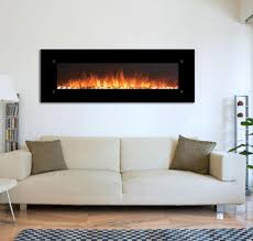 Electric Wall Mounted Fireplace Touchstone 80005 Onyxxl 72