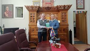 tibetan bureau office academy of science releases book with office of tibet in