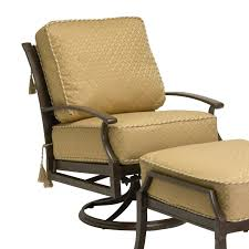 Swivel Rocker Patio Chairs by Exterior Light Brown Polished Metal Swivel Chair Decor With
