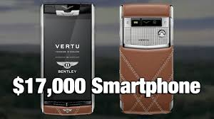 vertu bentley price 17 000 bentley smartphone youtube