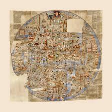 Us World Map by Ebstorf World Map Mappa Mundi 1234 A D Battlemaps Us