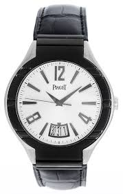 piaget automatic piaget forty five polo men s 18k white gold