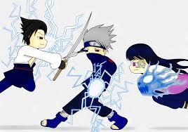 and hinata kakashi sasuke and hinata by xmizuwaterx on deviantart