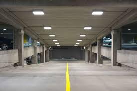 two important benefits of led parking garage lighting relumination