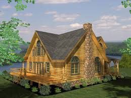 log cabin home plans bearbrook log home plan by honest abe log homes inc