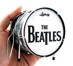 the beatles fab four ed sullivan set of 4 miniature guitar
