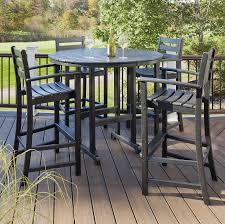 Patio Furniture Bar Set Trex Outdoor Furniture Monterey Bay 5 Bar Set Monterey