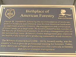 the birthplace of forestry asheville nc