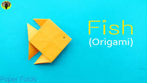 fish diy origami tutorial by paper folds youtube