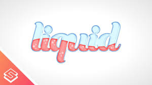 vector typography tutorial inkscape tutorial vector liquid text youtube