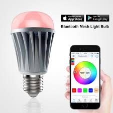 Led Light Bulbs To Replace Fluorescent by Amazon Com Magiclight Mesh Bluetooth Led Light Bulb Dimmable