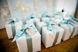 wedding gifts elizabeth gifts wrapped in blue ribbon elizabeth designs the wedding