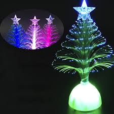 Christmas Tree With Optical Fiber Lights - aliexpress com buy colorful optical fiber led light artificial