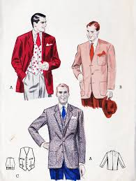 the most important aspect that describes 1950s fashion for men is