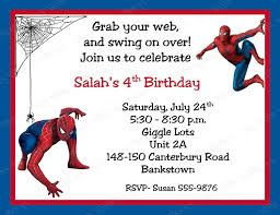 wwe birthday invitation templates spiderman party invitations u2013 gangcraft net