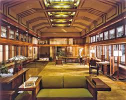 frank lloyd wright interior and you might say it looks a little
