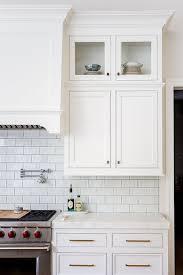 white shaker kitchen cabinets with white subway tile backsplash new improved kitchen design ideas home bunch interior