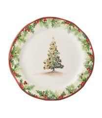 southern living christmas tree salad plate dillards