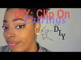 kids clip on earrings diy clip on earrings