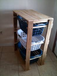 25 ingenious pallet projects and ideas laundry basket dresser