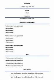 traditional resume template free blank resume templates for microsoft word