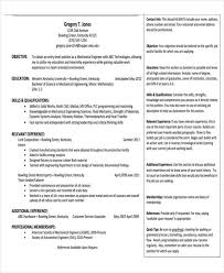 8 professional fresher resume templates in word pdf format