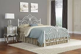 White Metal Headboard by Queen Bed Set White Metal Headboard Footboard Iron Room Platform