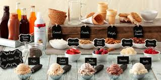 sundae bar toppings diy ice cream sundae bar publix super market the publix checkout