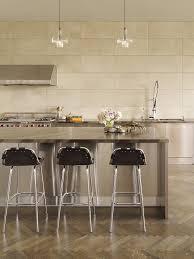 santa barbara travertine kitchen backsplash traditional with desk