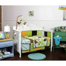 Swinging Crib Bedding Sets Jungle Baby Bedding Sets For Less Overstock Com