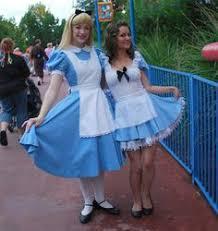 Halloween Costumes Alice Wonderland Disney Alice Wonderland Costume Pinafore Custom Etsy