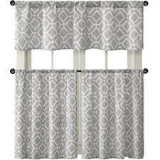 Gray Kitchen Curtains by Gray Kitchen Curtains For Window Jcpenney