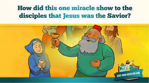 jesus turns water into wine kids bible story kids bible stories