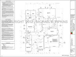 sample architectural drawings michael e pipkins architectural