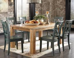rustic dining table set with bench design contemporary house