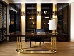 Modern Italian Office Desk Nella Vetrina William Modern Italian Designer Ebony Makassar Wood Desk