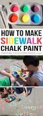diy sidewalk foam paint sidewalks sidewalk and paint