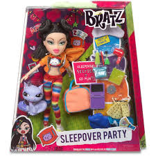 bratz sleepover party doll jade walmart