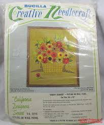 crewel kit bucilla indian summer picture wall panel embroidery new