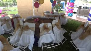 Party Canopies For Rent by Rent Tent With Chairs U0026 Tables Party Rentals Youtube