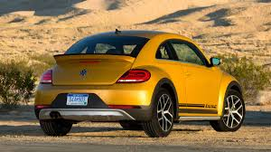 yellow baja bug 2016 volkswagen beetle dune review with horsepower price and