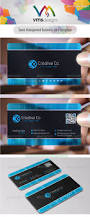 semi transparent business card by vms designs graphicriver