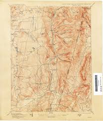 Map Of Cambridge Ma New York Topographic Maps Perry Castañeda Map Collection Ut