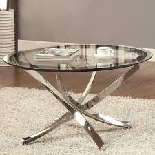 20 ways to chrome glass coffee table