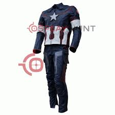 ultron costume age of ultron captain america steve rogers costume leather suit