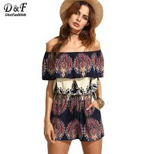 one shorts jumpsuit 2018 dotfashion boho rompers womens jumpsuit shorts one