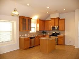 kitchen fair l shape kitchen decoration with light brown granite