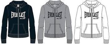 everlast ladies womens authentic jacket jumper hoodie casual