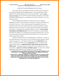 7 apa annotated bibliography example nurse resumed